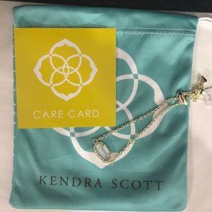 NWT. Kendra Scott Elaina bracelet. March stone.